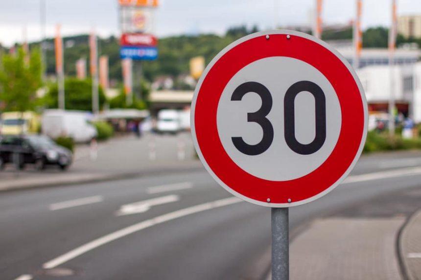 New speed limits Albir