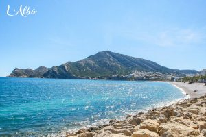 The coast of L'Albir