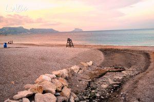 The dry river of L'Albir
