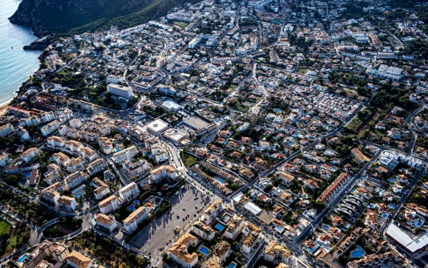 Lalbir from the air