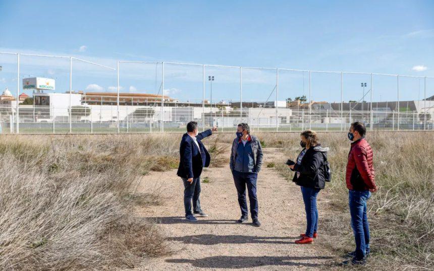 Creatation of a new football field in Albir